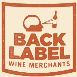 back label wine merchants logo nyc