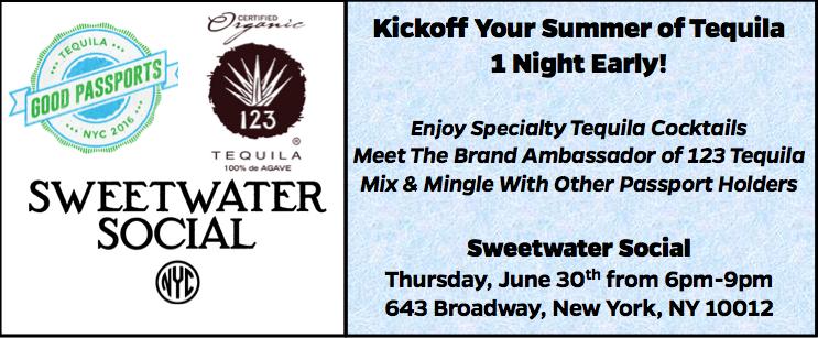 Good Tequila Passport - Sweetwater Social 2